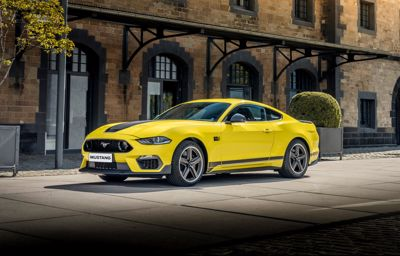 THE NEW FORD MUSTANG MACH 1