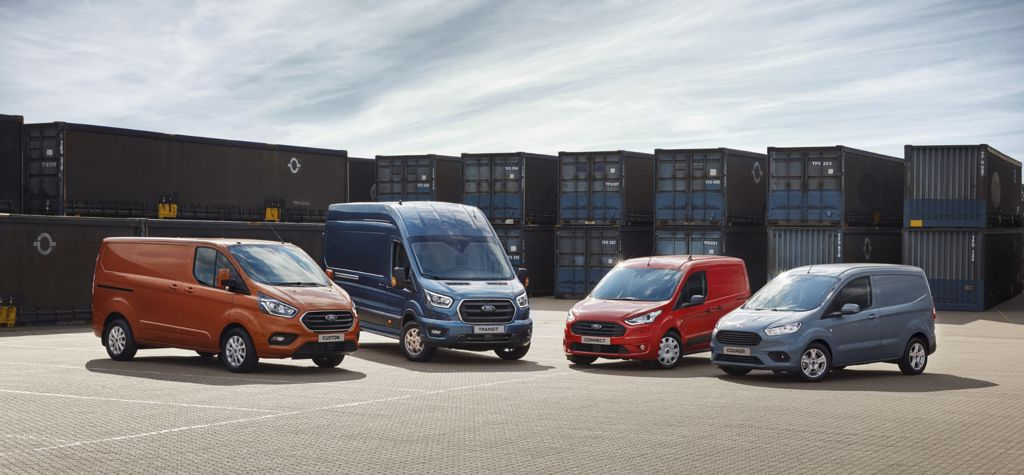 All new Ford Transit Range from CAB Motors