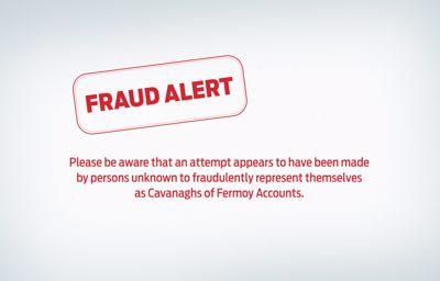 E-Mail Fraud Alert