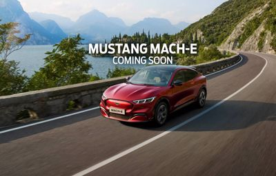 MUSTANG MACH-E. THE ALL-ELECTRIC SUV.