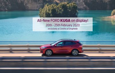 All-New Ford Kuga on display!