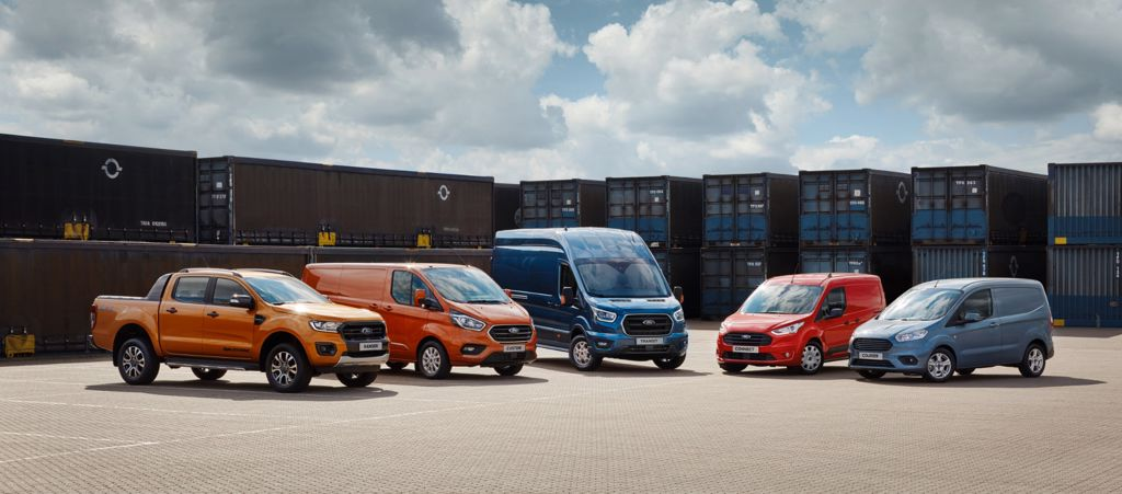 Ford Commercial vehicles suitable for business and private use