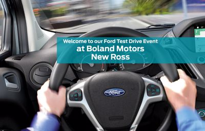 Ford Test Drive Event