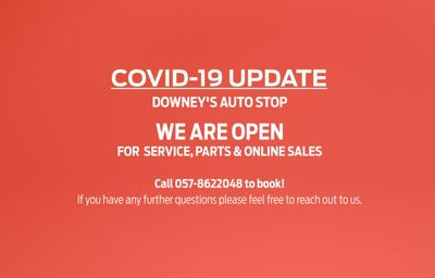 Downey's Auto Stop COVID 19 update