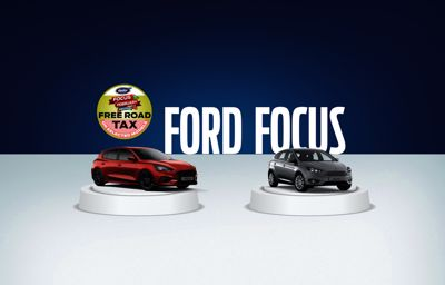 Used Ford Focus Festival