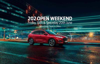 202 Open Weekend: 19th & 20th June