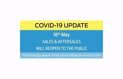 Sales & Aftersales Reopening