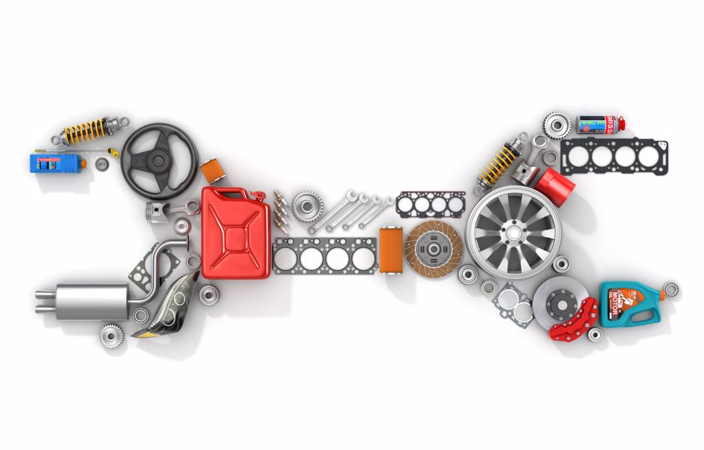 Ford Original Parts.