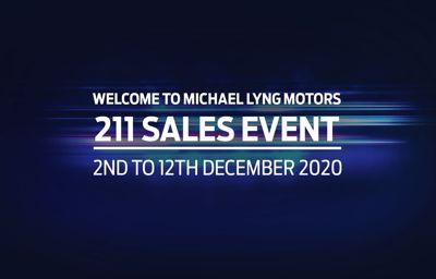 211 SALES EVENT at Michael Lyng Motors