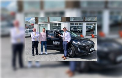 Richie Hogan is now converted to driving Hybrid!