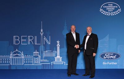 Michael Lyng in Berlin for Ford Chairman's Awards Presentation Ceremony