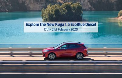 New Ford Kuga in our showroom!