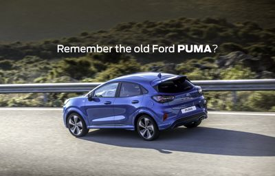 Remember the old Ford Puma?