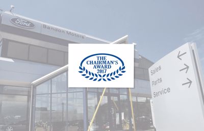 Bandon Motors recognised with prestigious Ford Chairman's Award