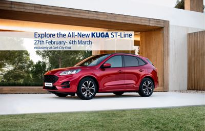 The All-New Ford Kuga has landed!