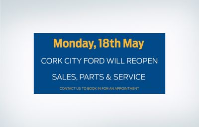 Sales, Service & Parts reopening