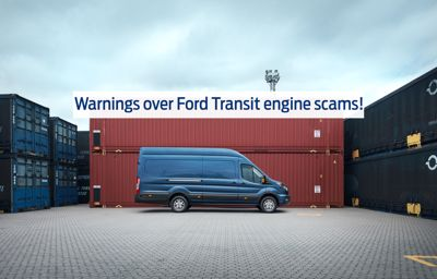 WARNING: Scam over Ford Transit Vans
