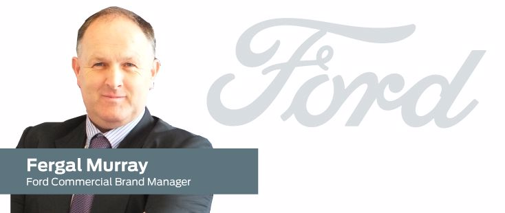Ford Commercial Brand Manager Fergal Murray