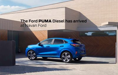 Delivery of the Ford Puma Diesel