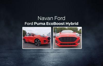 The Ford Puma EcoBoost Hybrid at Navan Ford