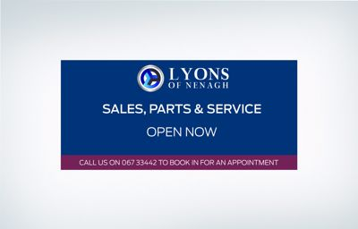 Lyons of Nenagh are now open