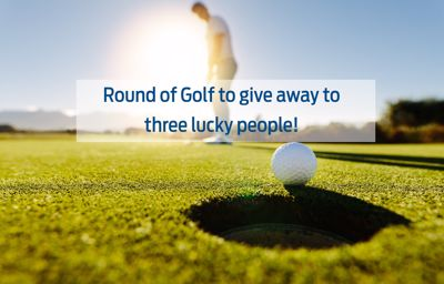 Round of Golf to give away!