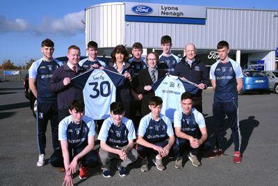 Lyons of  Nenagh Dealership wins Carzone sponsorship for Nenagh Éire Óg GAA Club
