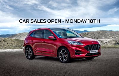 Sales Department is now open