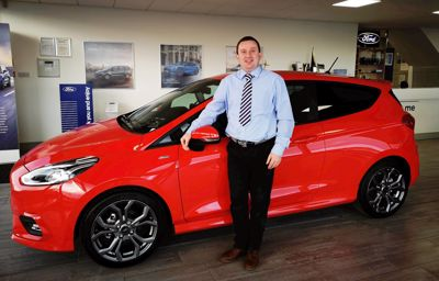 A new salesman joins the team