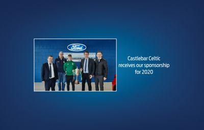 Castlebar Celtíc receives our sponsorship for 2020