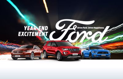 Make This Year-End Exciting with Ford Offers