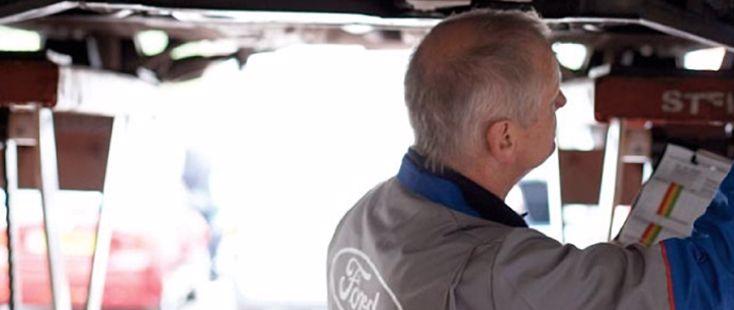 Bodyshop at Oman Ford