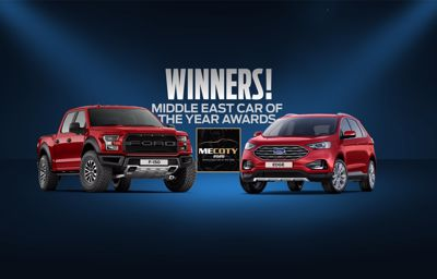 Ford F-150 Raptor & All-New Ford Edge Winners in the 2020 Middle East Car of the Year Awards