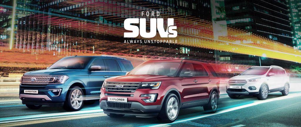 Unstoppable SUVs