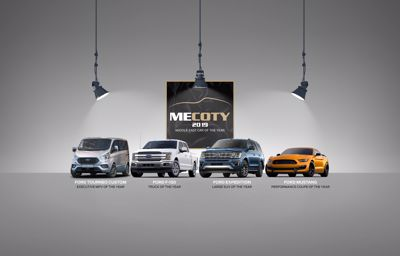 Ford Scoops Up Four Accolades During Middle East Car of the Year Awards