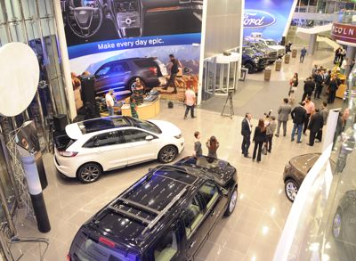 Almana Motors Company's All-New Ford and Lincoln Showroom Promises to Deliver Higher Levels of Customer Satisfaction and Dealership Experience