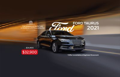 FORD TAURUS 2021