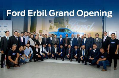 افتتاح أول مجمع لمبيعات وخدمات صيانة وقطع غيار سيارات فورد في أربيل