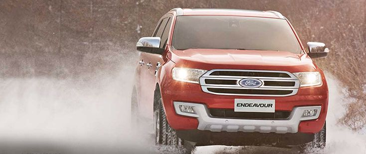 All New Ford Endeavour Accessories