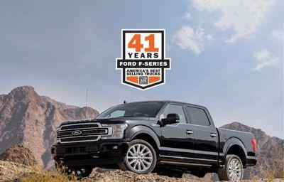 فورد F-Series تتصدر مبيعات الشاحنات في أمريكا للعام 41 على التوالي