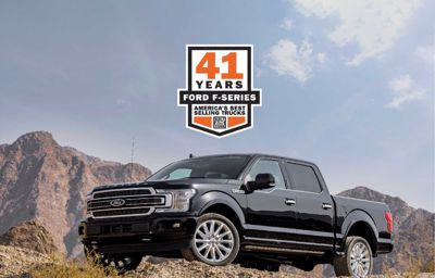 Ford Celebrates 41 Consecutive Years of Truck Leadership as F-150 continues to set US Sales Records