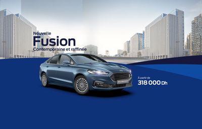 La Ford Fusion 2021, la berline familiale re-stylée offre luxe, technologie et une nouvelle silhouette élégante et moderne