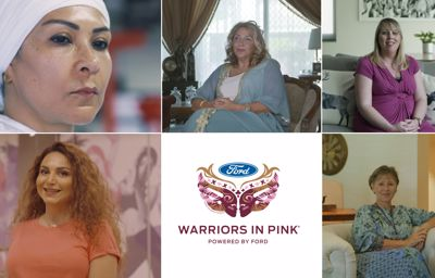 Ford Warriors in pink 2018