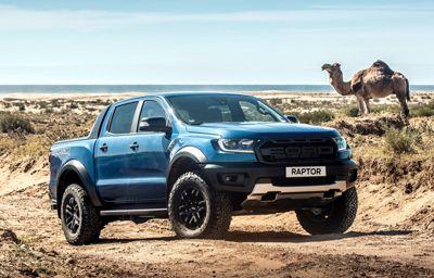 Le Ford Ranger Raptor, le pickup de l'extrême, débarque pour la première fois au Maroc