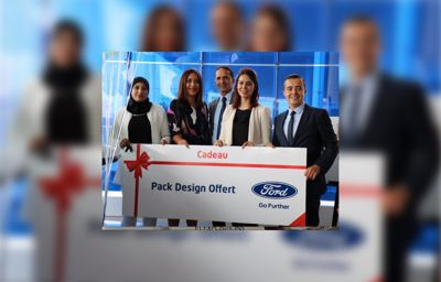 Ford Maroc s'associe avec Oriflame pour aider les meilleures consultantes de la société à acquérir un véhicule