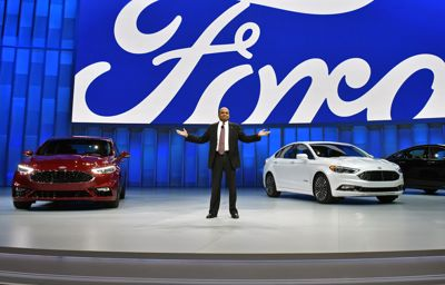 Ford Unveils The Smartest Ever Fusion