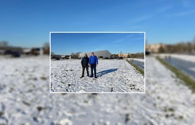 Sneeuwpret bij Ford Iriks in Middelharnis