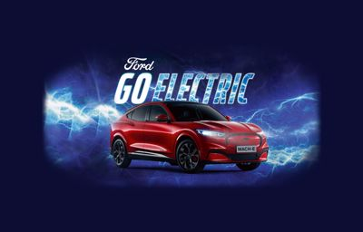 Go Electric Weken - proefrit Mustang Mach-E