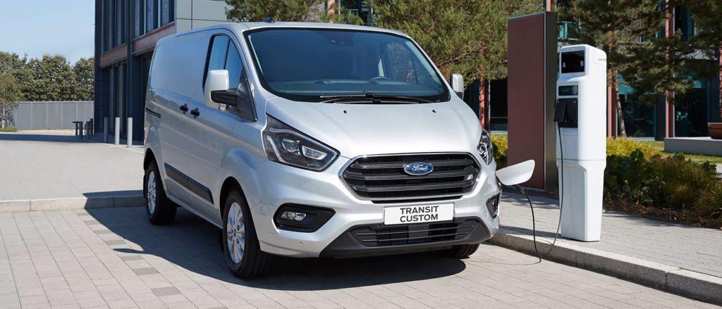 Ford plug-in hybrid aandrijving