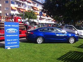 Sponsoring Ford Van Dijk/Schouten voor Oldtimer Tour Lionsclub Rotterdam-Kraalberg